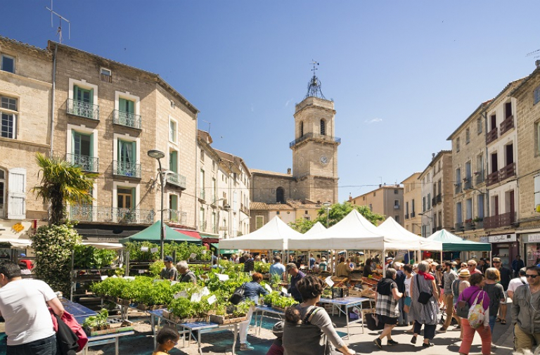 PÉZENAS TRADITIONAL FOOD MARKET